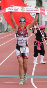 女子1位のタマラコズリナ選手
